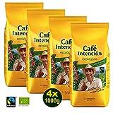 Darboven Café Crema Bio Fairtrade Bohnen 4x1kg