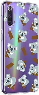 Oihxse Compatible pour Xiaomi Redmi 4X Coque Ultra Fine Transparente TPU Silicone Doux Protection Housse Motif/Exact Fit/S...