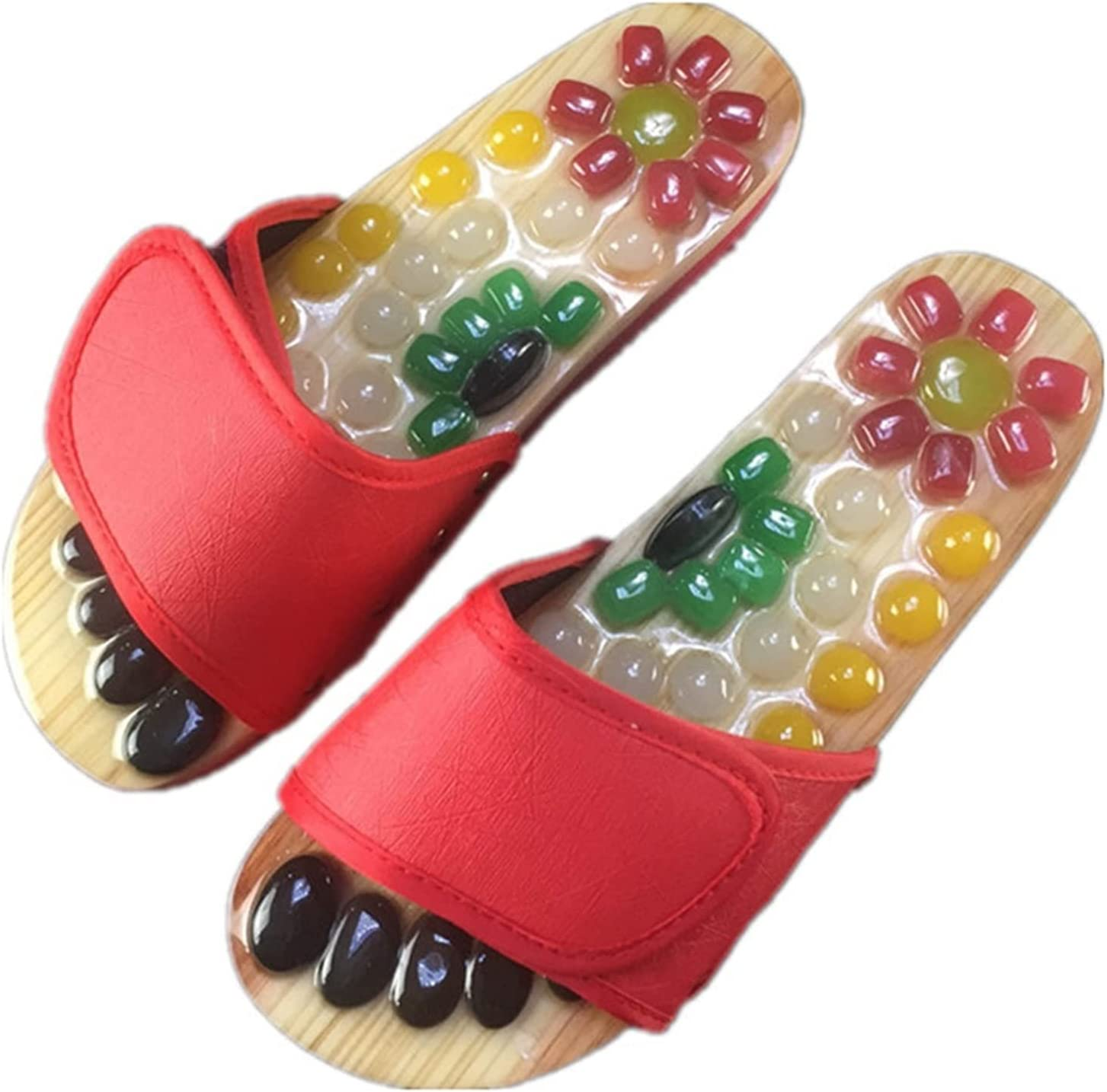 Ranking TOP5 HOUFT Womens Slippers Acupressure with Nashville-Davidson Mall Massage Earth St