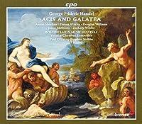 ゲオルク・フリードリヒ・ヘンデル:牧歌劇「エイシスとガラテア」/カンタータ「私はとても幸せになりましょう」[2CDs]