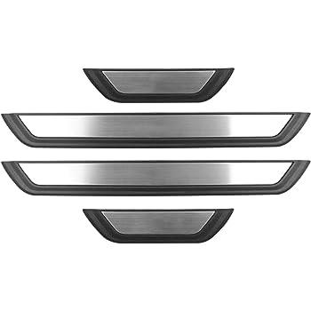 N//A 4 Pezzi protettore per davanzale portiera per Auto per Mazda CX-30 CX30 2019 2020 Rivestimento della soglia del Pedale di sfregamento Coperchio di Protezione Piastra Ticker Accessori