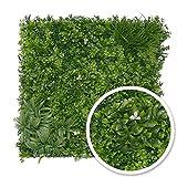 Mur de Plante Artificielle pour intérieur/extérieur - White Garden - 1m²