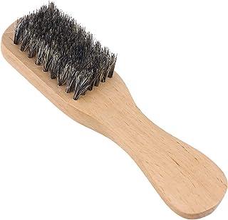Lurrose Baardborstel mannen snor borstel wildzwijnharen hout met handvat voor kapsalon