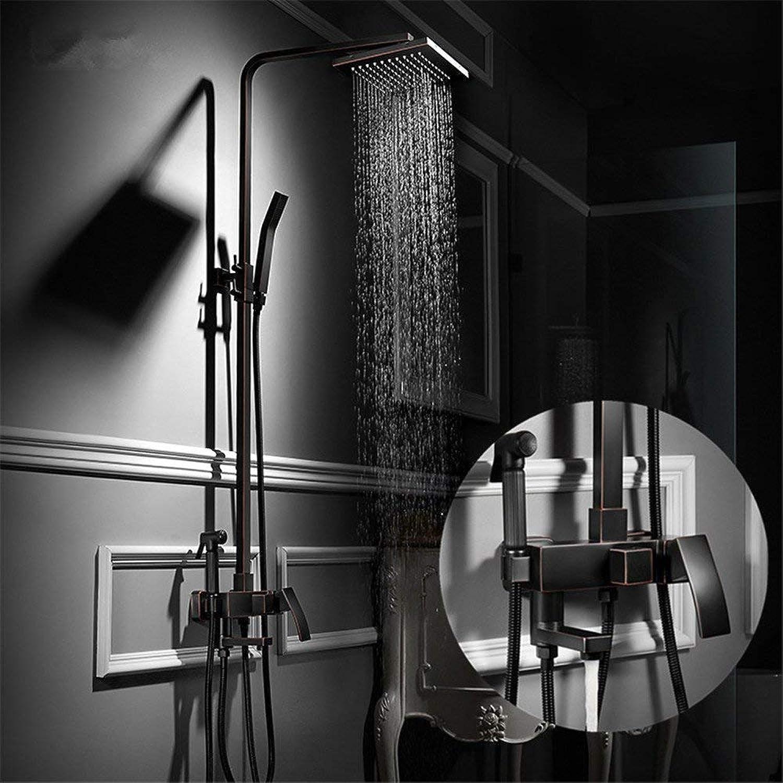 Alle Kupfer Schwarz antike Dusche, Dusche, Dusche, Dusche, Dusche, Dusche, Dusche, B