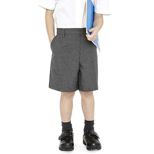 Ex Marks and Spencer Boys School Uniform Slim Leg Shorts