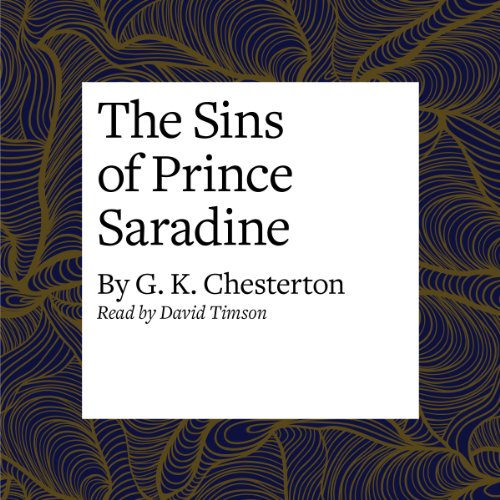 The Sins of Prince Saradine audiobook cover art
