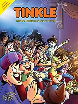 Tinkle Magazine No.602 by [Rajani Thindiath]