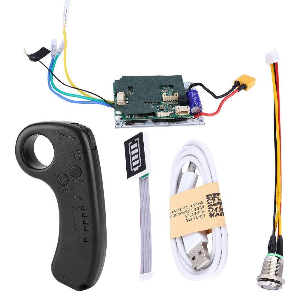 Controlador de Skateboard el/éctrico Longboard Single Drive Substitute Control Mainboard con Control Remoto Controlador de Skateboard