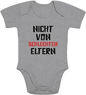 Shirtgeil Nicht von schlechten Eltern - Baby Spruch Baby Body Kurzarm-Body