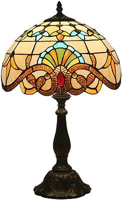 Lámpara De Mesa Estilo Tiffany, Cadena De Tracción, Luz De ...