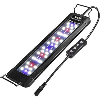 MingDak LED Aquarium Plant Light - Fish Tank Light Fixture,Full Spectrum Aquarium Lighting for Freshwater,White Blue Red Combine LEDs