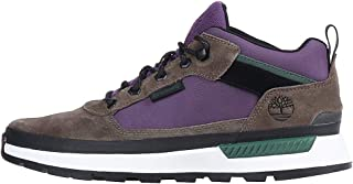 Timberland Field Trekker Low Mens Grey/Purple Boots