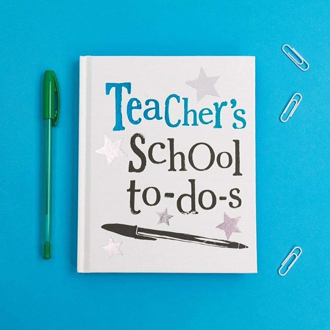 The Bright Side Teacher Notebook- Teacher's School Notebook To Do