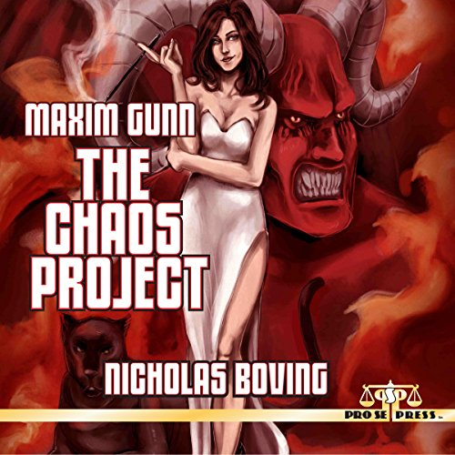Maxim Gunn: The Chaos Project                   By:                                                                                                                                 Nicholas Boving                               Narrated by:                                                                                                                                 Mark Finfrock                      Length: 5 hrs and 24 mins     Not rated yet     Overall 0.0