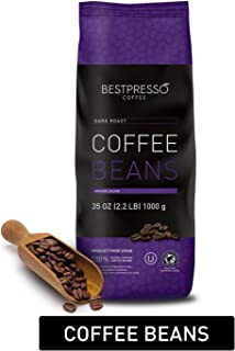 Bestpresso Whole Bean Coffee (Dark Roast, 35 Ounce 1 Pack)