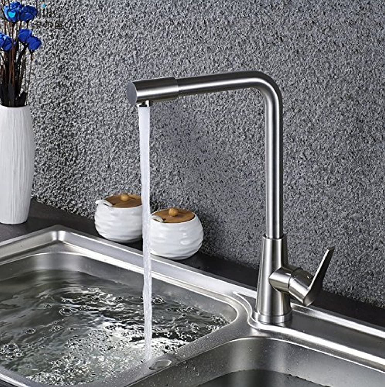 Retro Deluxe Faucetingingkitchen Faucet Large Seven Character redating Kitchen Pots, Kitchen Faucets, Cold and Hot Faucets.