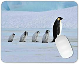 Timing&weng Emperor Penguin Mouse pad Gaming Mouse pad Mousepad Nonslip Rubber Backing