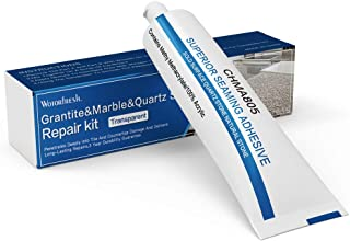 Granite, Marble, Quartz Countertops and Tiles Repair Kit - Fix Chips & Defects| Restore Tiles & Countertops with Ease | for Quartz Corian Marble or Stone | Flawless Results Every Time