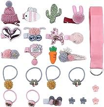 Arkmiido Girl's Hair Accessories Set (Multicolour) -24 Pieces