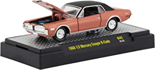 M2 Machines 1:64 Detroit Muscle Release 45 1968 1/2 Mercury Cougar R Code Brown