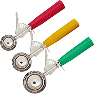 Cookie Scoops Set of 3, Ice Cream Scoop Set, Large-Medium-Small Size, Perfect for Cookie, Ice Cream, Cupcake, Muffin, Meatball