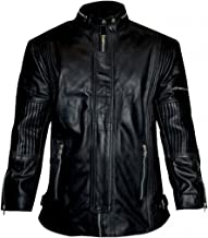 LP-FACON Daft Punk Electroma Black Synthetic Leather Jacket