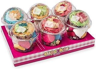 Cupcakes La Asturiana - Envases en forma de cupcake Rellenos