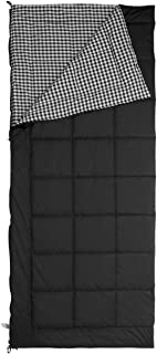 Jivan Flannel Light Weight Outdoor Camping Sleeping Bag for Adult - Waterproof Envelop Sleeping Bags, Free Compression Sack, Best for Backpacking Hiking
