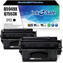 INK E-SALE Compatible Q5949X Q7553X Toner Cartridge Replacement for HP 49X Q5949X 53X Q7553X (Black 2Pack) for use in HP L...