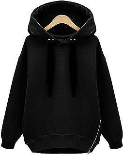 Suchergebnis auf Amazon.de für: schwarzer hoodie damen: Bekleidung