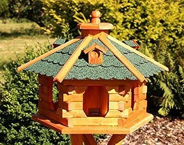 Casa de pájaros grande, de madera tipo 5