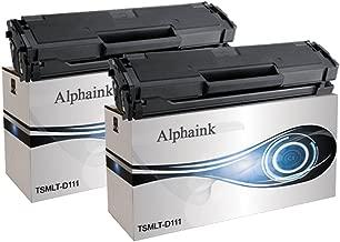 Alphaink AI-KIT2-PFMLT-D111L Kit 2 Toner compatibili per Samsung Xpress M2022 Xpress M2022 M2026 M2022W M2070 M2020 M2070F M2070FW M2070W , 1800 copie