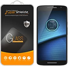 (2 Pack) Supershieldz for Motorola (Droid Maxx 2) Tempered Glass Screen Protector, Anti Scratch, Bubble Free
