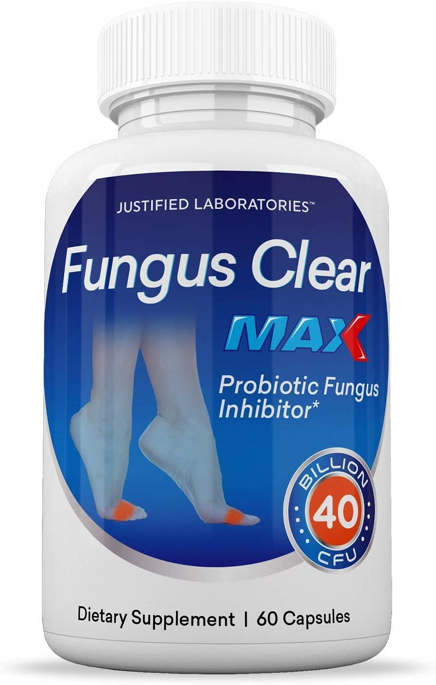 Fungus Clear Max Pills 40 Special Campaign Billion Probiotic CFU Arlington Mall Supports Strong