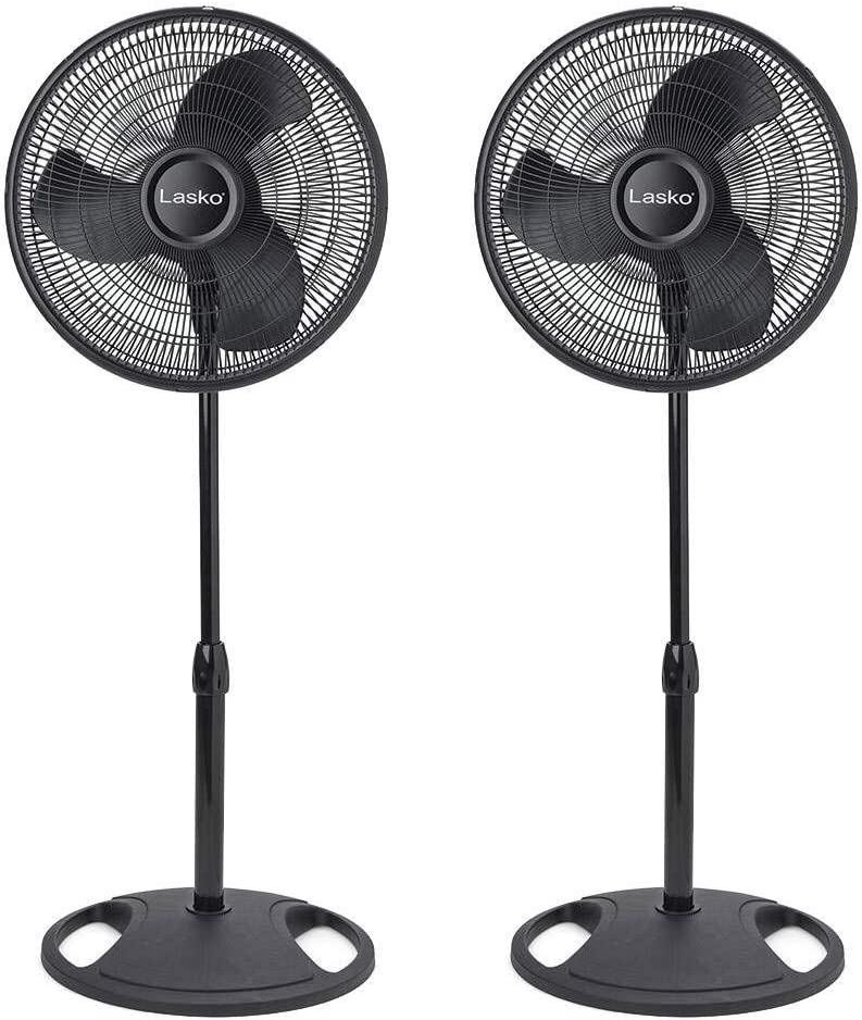 Inventory cleanup selling sale Lasko 16 Inch Oscillating 3 Pedestal Stand Luxury Speed Fan Adjustable