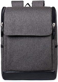 PANFU-AU Retro Simple Small Backpack Bag Laptops Notebook Bag (Color : Gray)