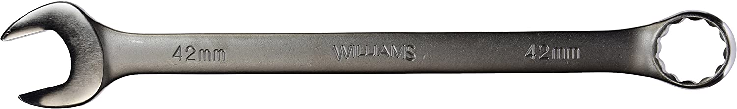 Williams 11542 12 12 12 Point Combo Wrench, 42mm, Satin Chrome Finish by Williams B00HQBWLXA | Zu einem erschwinglichen Preis