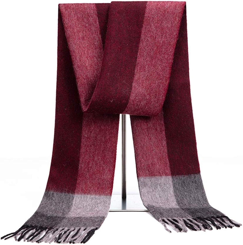 Women's AllMatch Scarf, Long Plaid Tassel Warm Scarf, Wrap Plaid Shawl, 180x30cm (color    5)