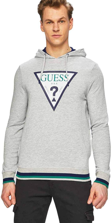 Guess Men's Perce Hoodie Grey