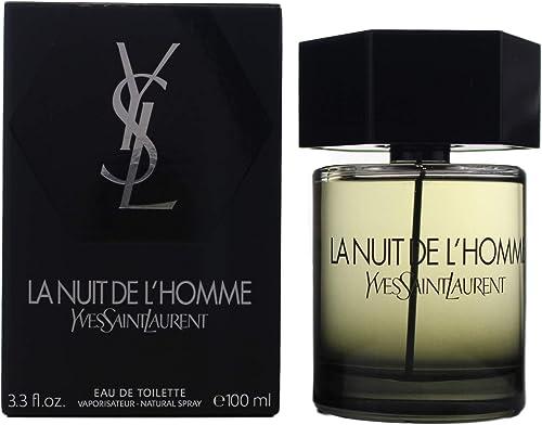 Yves Saint Laurent La Nuit de L'Homme Eau de Toilette, 100ml