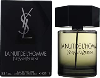 ادو تویلت اسپری Yves Saint Laurent La Nuit De L'Homme، 3.3 اونس