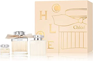 Chloe by Parfums Chloe for Women 3 Piece Set: 2.5 oz Eau de Parfum Spray + 3.4 oz Perfumed Body Lotion + 0.17 oz Eau de Parfum Miniature
