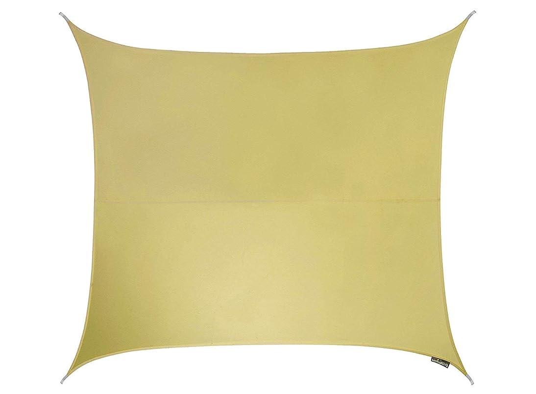 モニカボーカルのホストクッカバラパーティセイルシェード 砂色 紫外線96.5%カット 布帛 - 耐水性タイプ OL0133SSS (正方形: 3 x 3m)