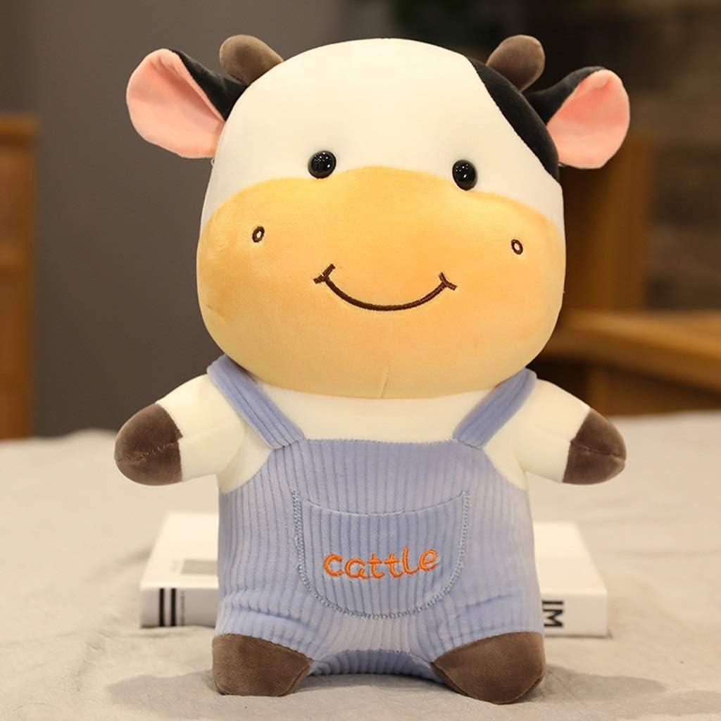 Austin New popularity Mall EODNSOFN New Plush Cow Toy Cat Stuffed Cattle Animals Cute