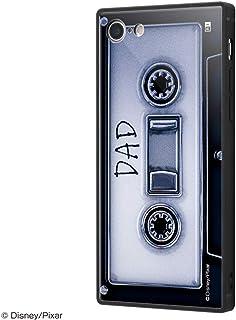 イングレム ディズニー iPhone SE(第2世代) / iPhone 8 / iPhone 7 ハイブリッド ケース カバー KAKU 耐衝撃 衝撃吸収 [ ストラップ ホール 付き 通し穴 ] スクエア 軽量 かわいい オシャレ トリプルハイブリッド/「2分の1の魔法/カセット」 IQ-DP7K3B/OW001