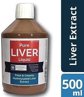OURONS 500ml Extracto líquido de hígado puro para boilies, pellets y cebos de pesca de Carpas
