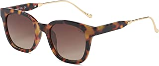 SOJOS Classic Square Polarized Sunglasses for Women UV400 Sun Glasses SJ2050