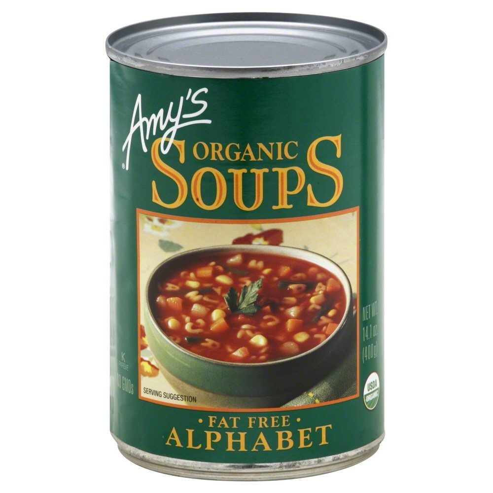 Amy's Organic Soup Alphabet - Baltimore Sales results No. 1 Mall 14.1 Pack fl 12 of oz