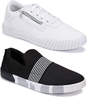 Bersache Combo Pack of 3,lace-up, Sports Running Shoe for Men