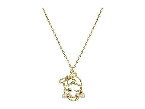 Kate Spade New York Celestial Charm Virgo Pendant Necklace